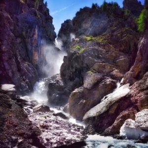 Spaziergang Wasserfall Sertig