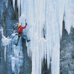 Eisklettern im Sertig